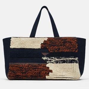 Zara Fabric Shopper